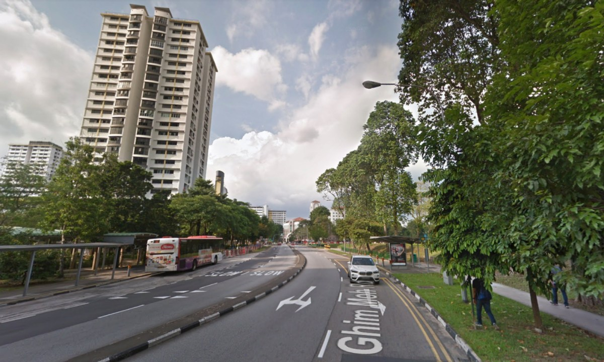 The Ghim Moh neighborhood in Singapore where the family lived. Photo: Google Maps