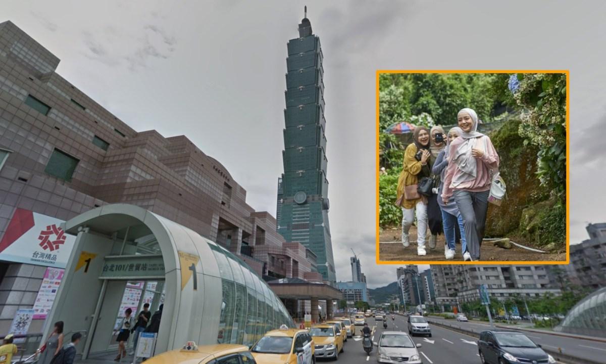 Taipei 101, Taiwan. Photos: Google Maps, Central News Agency