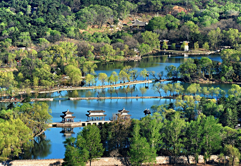 The Mountain Resort in Chengde, Hebei. Photo: Xinhua