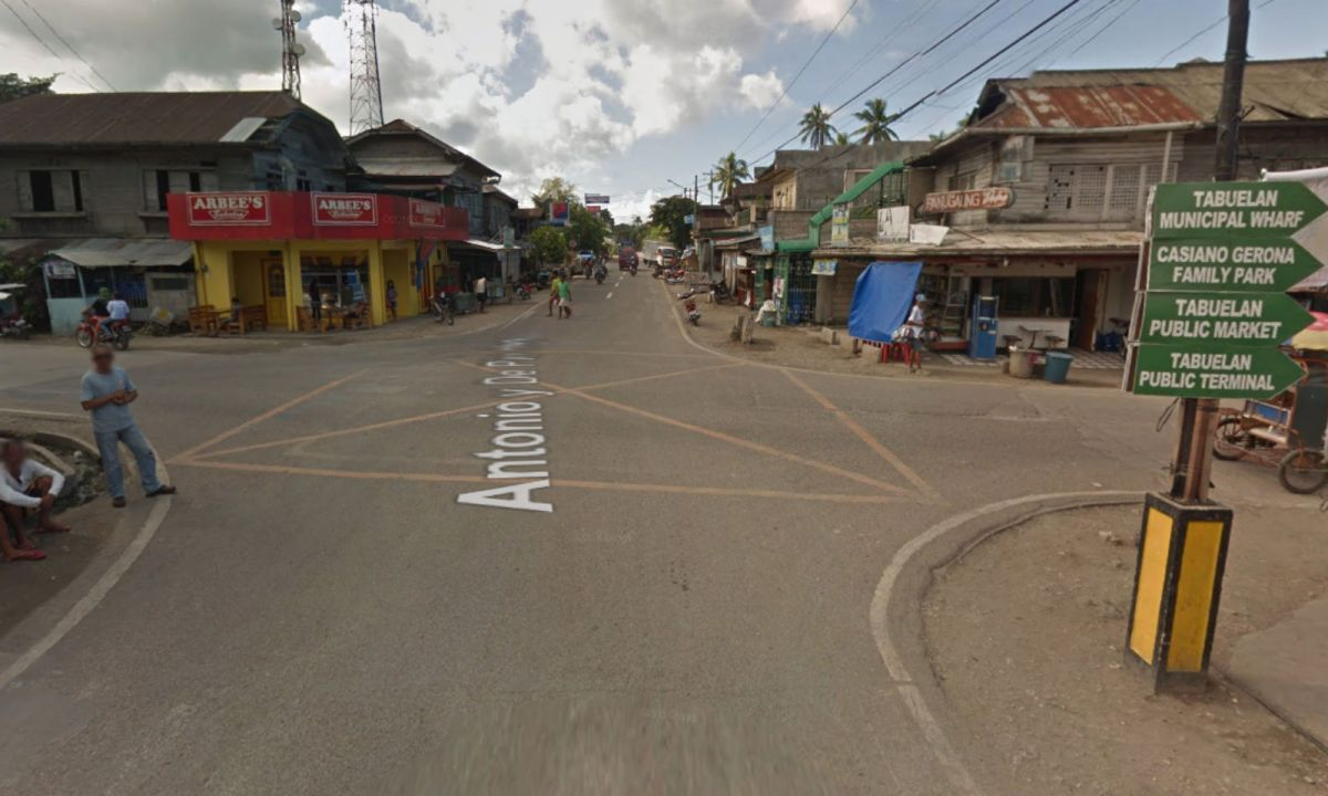Tabuelan in Cebu City, Philippines. Photo: Google Maps