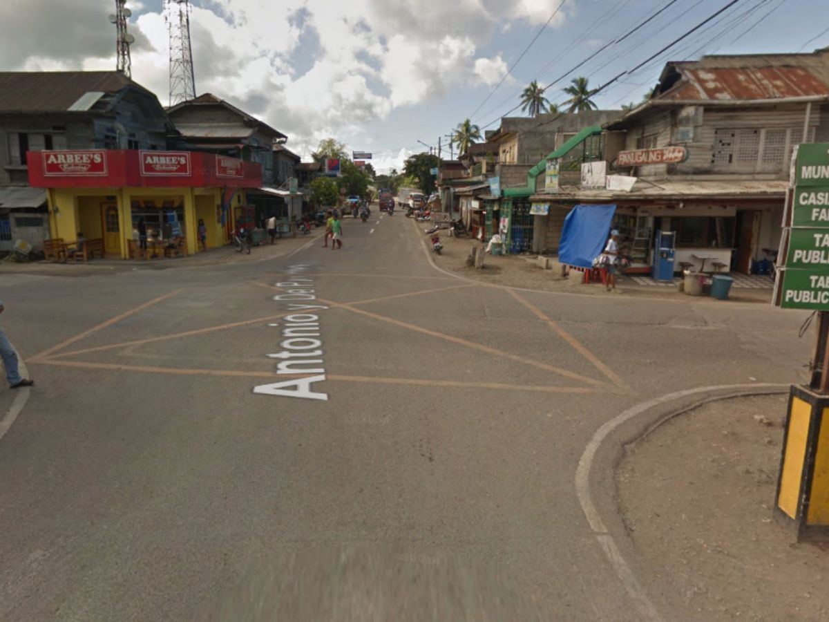 Tabuelan in Cebu City, Philippines. Photo: Google Maps