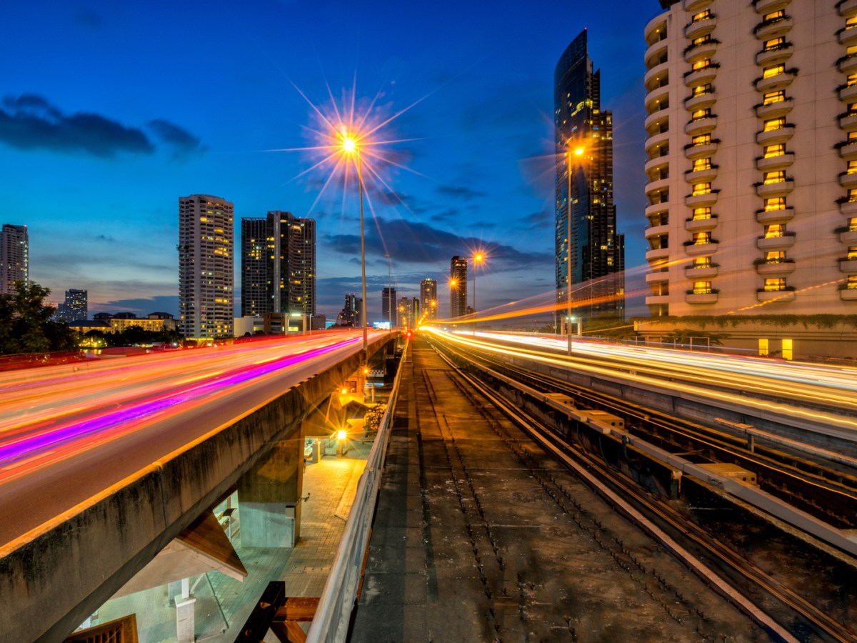 Condominiums spring up along Bangkok's growing Skytrain line.  Photo: iStock/Getty Images