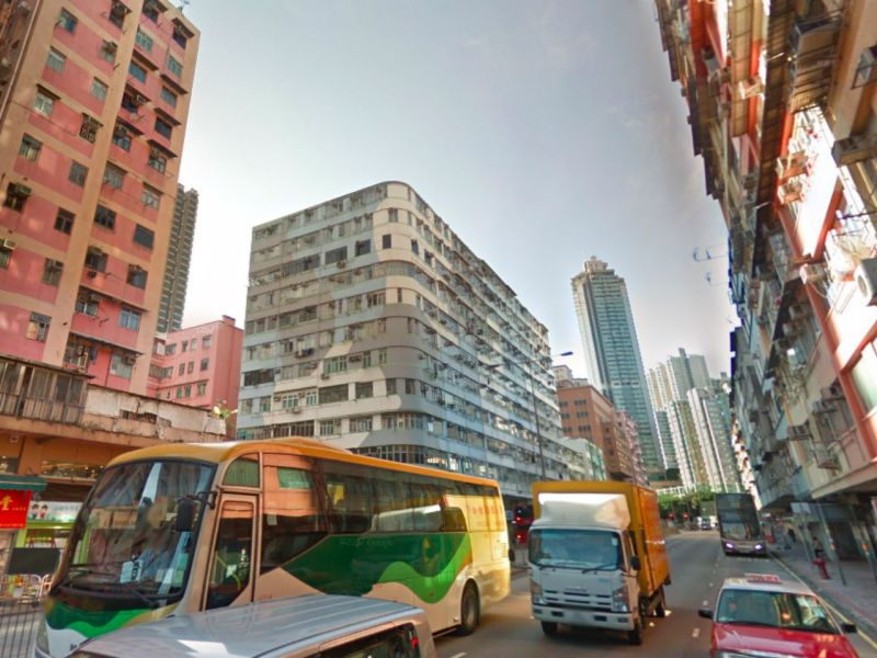 To Kwa Wan in Kowloon where the two were arrested. Photo: Google Maps