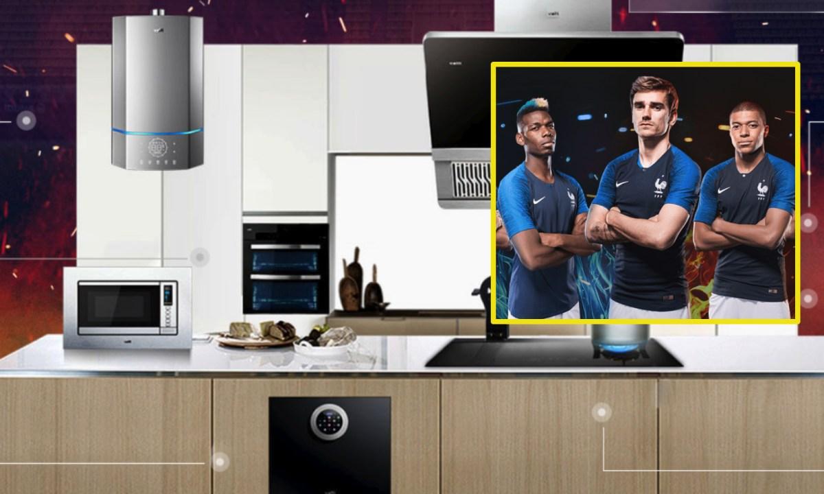 Vatti offered a refund scheme if France won the World Cup. Photo: Vatti Corp