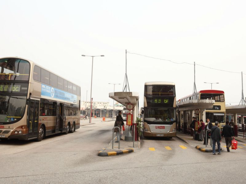 The bus terminal in Kowloon. Photo: iStock