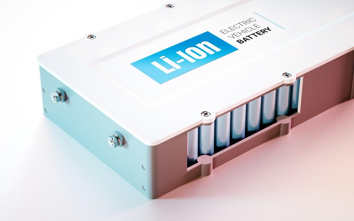 EV (electric vehicle) Li-Ion battery. Photo: iStock