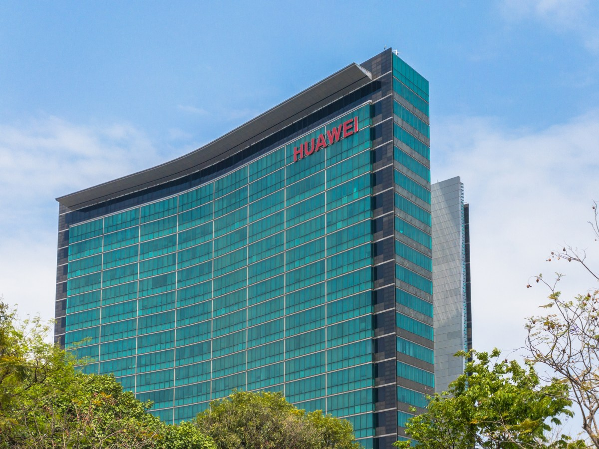 Skyscraper of the R&D building of Huawei Headquarters in Longgang District of Shenzhen city, Guangdong Province, China. Photo: iStock