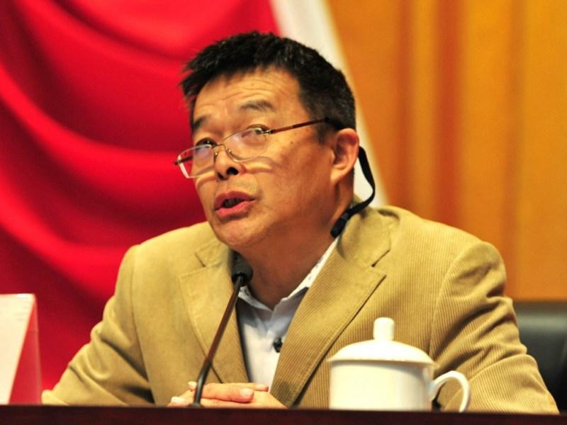 Tsinghua economist Hu Angang. Photo: Handout