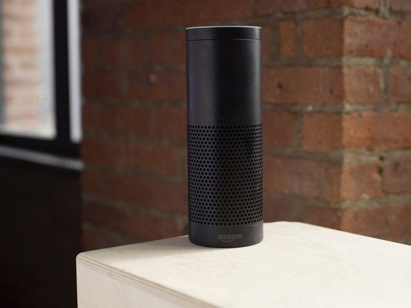 Amazon's best-selling smart speaker Echo. Photo: Flickr/BestAI Assistant