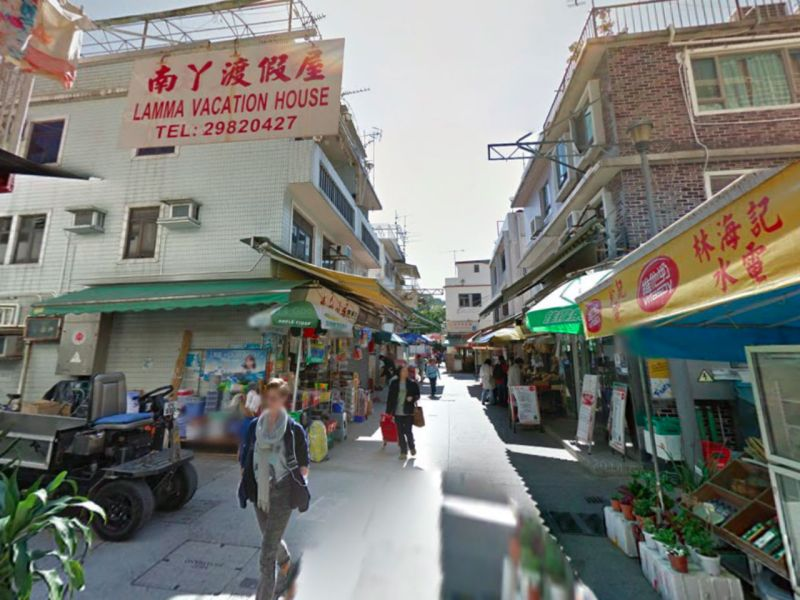 Lamma Island off Hong Kong. Photo: Google Maps