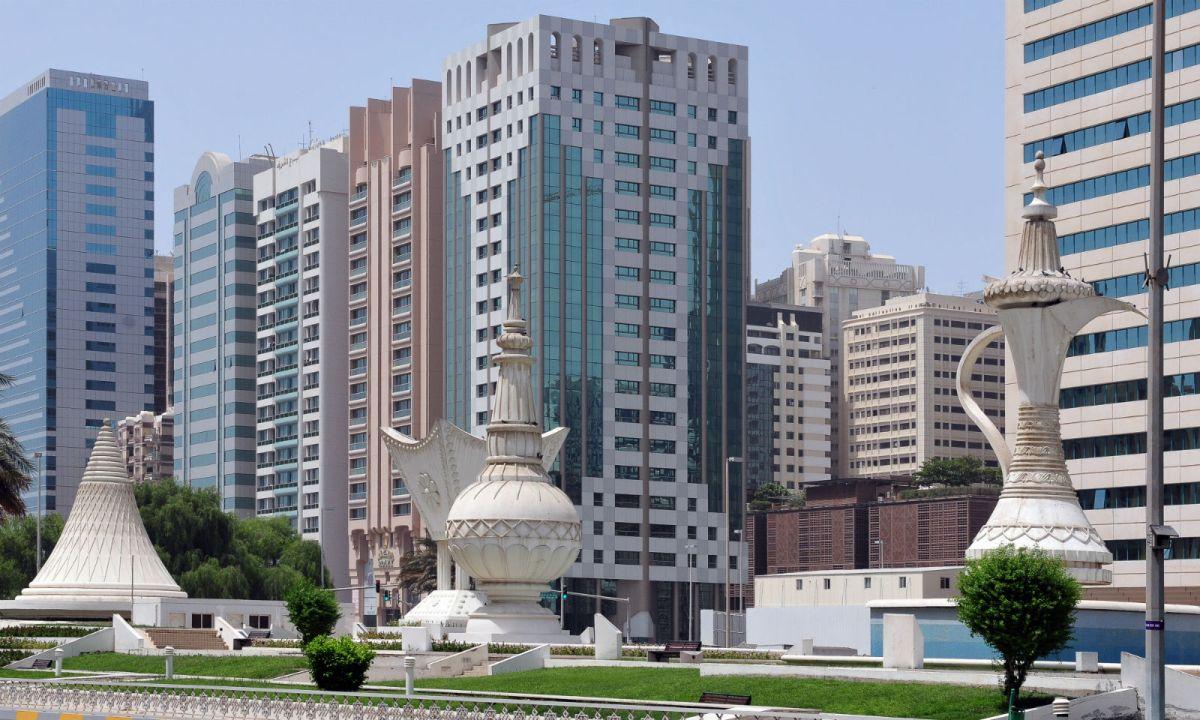 Abu Dhabi, capital of the United Arab Emirates. Photo: Wikimedia Commons, Ralf Roletschek