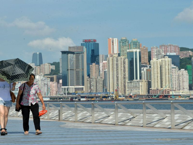 Tsim Sha Tsui in Kowloon. Photo: HK Government