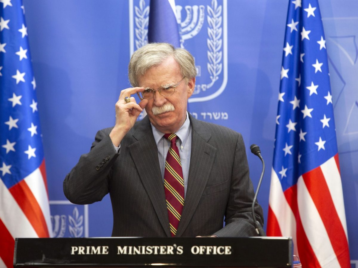 US national security adviser John Bolton may be the key to the way Russia deals with the US. Photo: AFP/Sebastian Scheiner