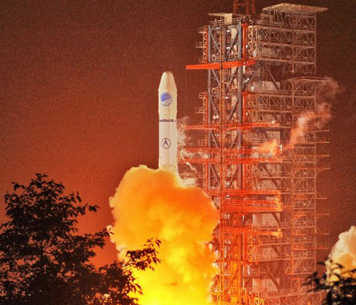 A Long March-3A carrier rocket lifts off from the Xichang Center in China's Sichuan province. Photo: AFP