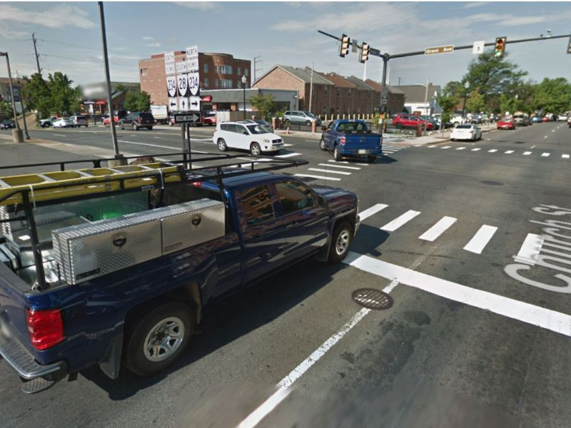 Manassas, Virginia in the United States. Photo: Google Maps