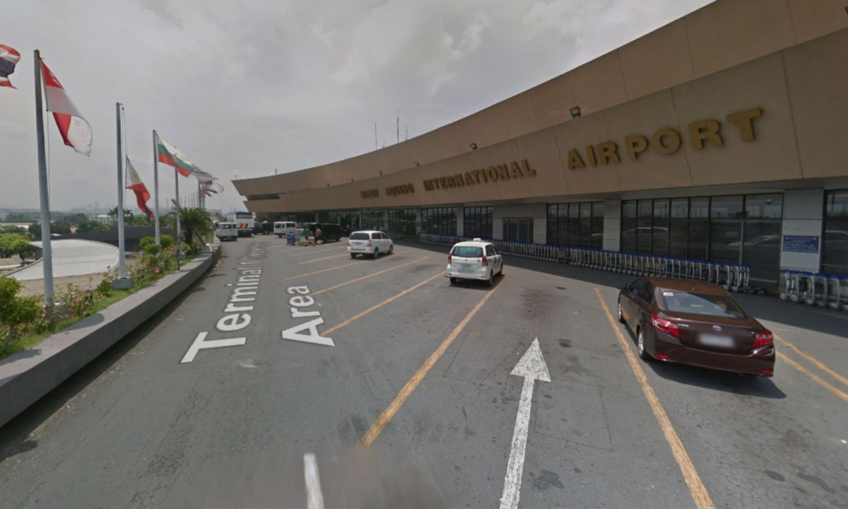 Ninoy Aquino International Airport Terminal 1 Departure Area. Photo: Google Maps