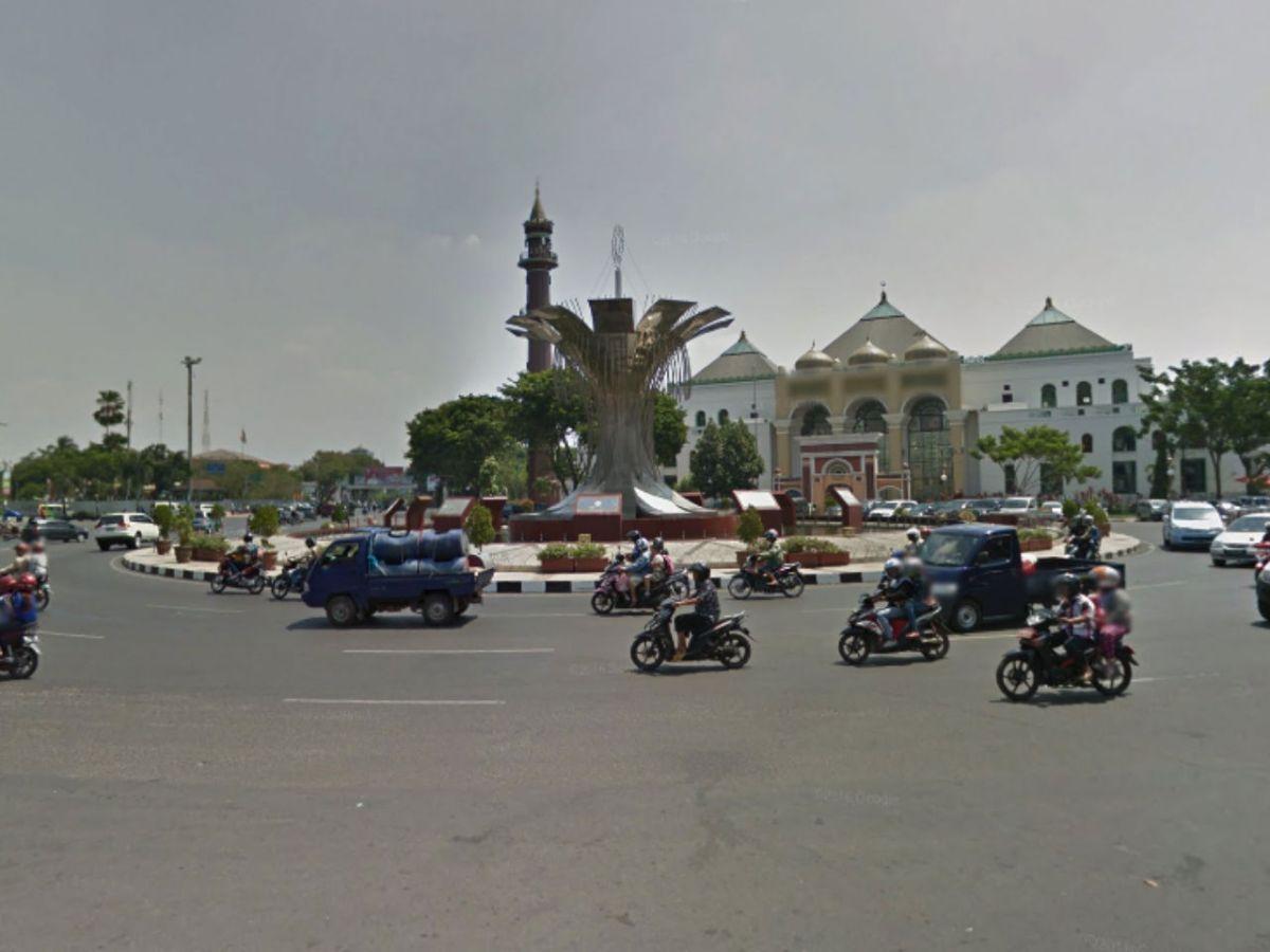 Palembang City, Indonesia. Photo: Google Maps