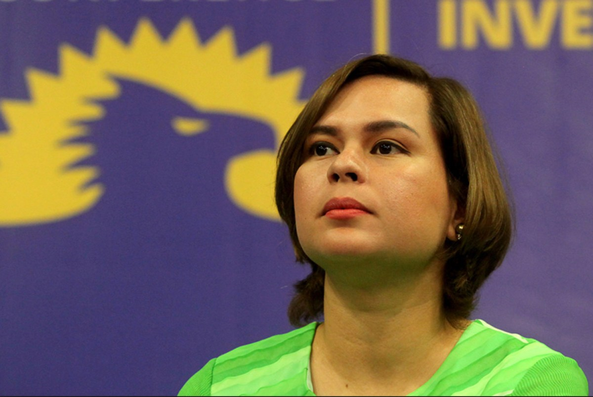 Davao City Mayor Sara Duterte in a file photo. Photo: Twitter