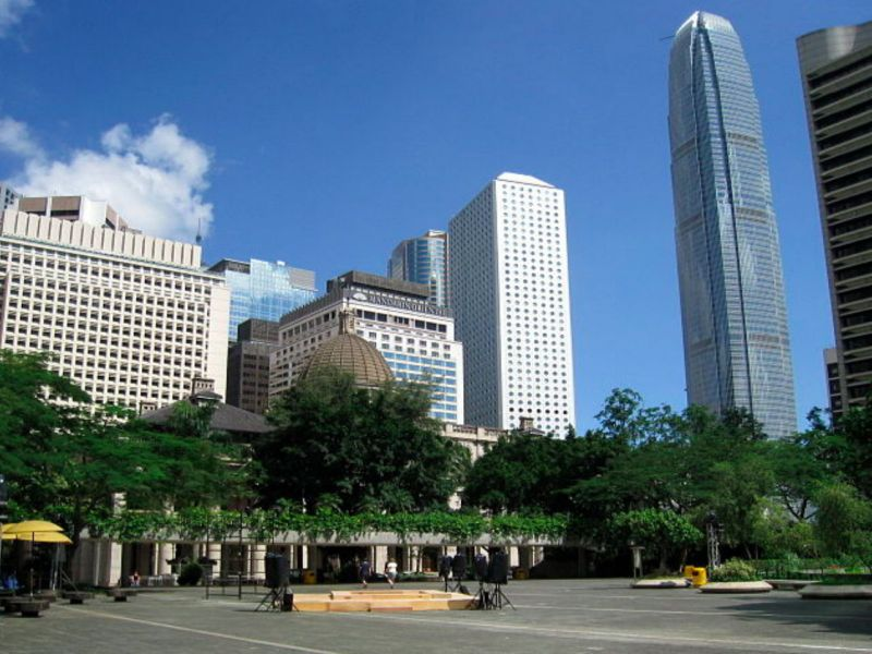 Chater Garden in Central, Hong Kong Island. Photo: Wikimedia Commons
