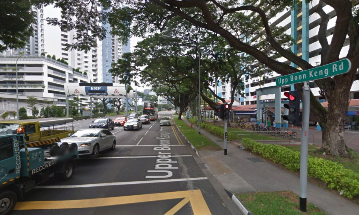 Upper Boon Keng Road neighborhood, Singapore. Photo: Google Maps