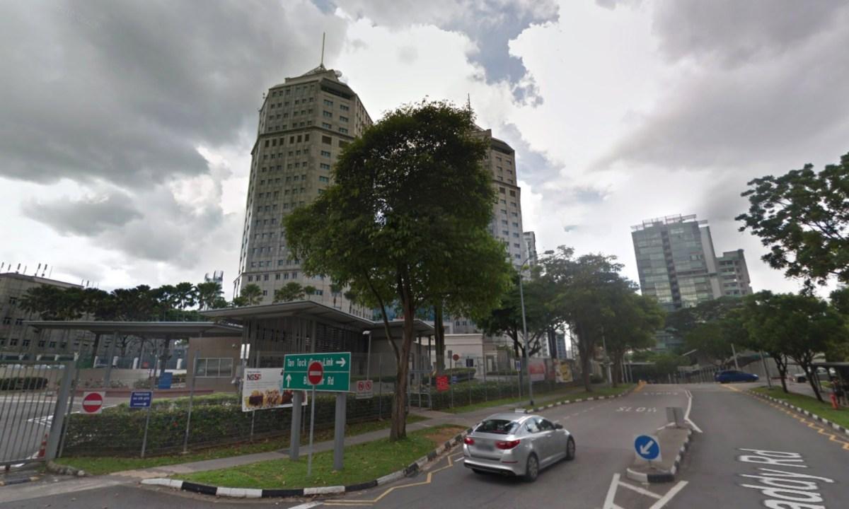 Police headquarters on Irrawaddy Road, Singapore. Photo: Google Maps
