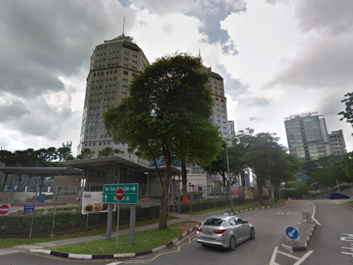 Police headquarters on Irrawaddy Road, Singapore. Photo: Google Maps
