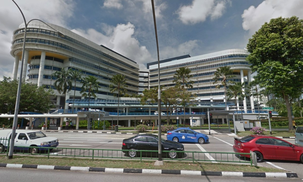 KK Women's and Children's Hospital, Singapore. Photo: Google Maps
