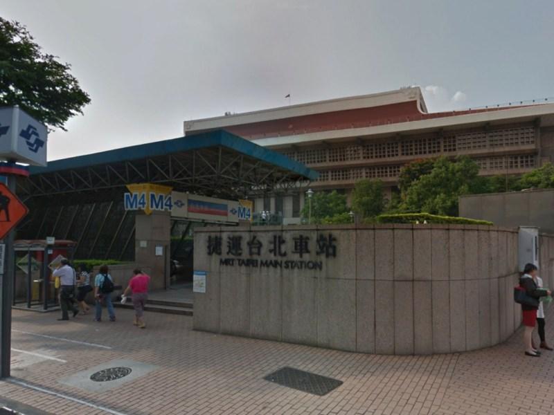 MRT Taipei Main Station, Taiwan. Photo: Google Maps