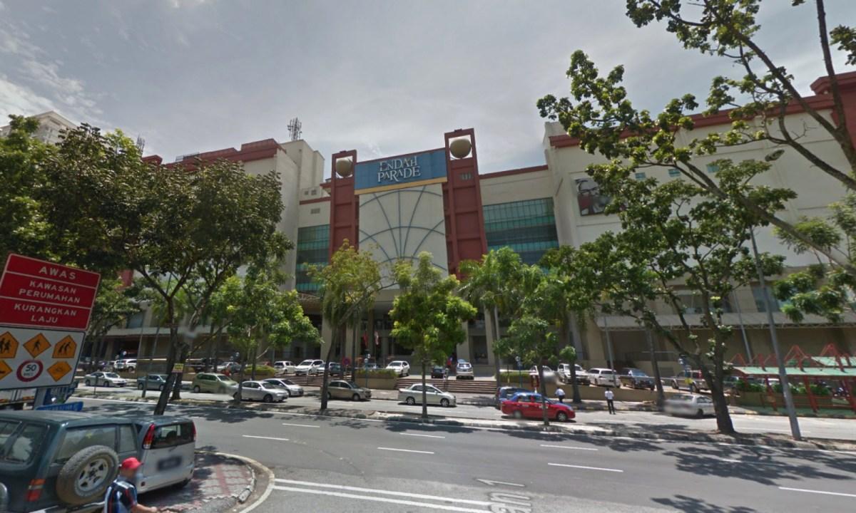 Endah Parade, Sri Petaling, Kuala Lumpur, Malaysia. Photo: Google Maps
