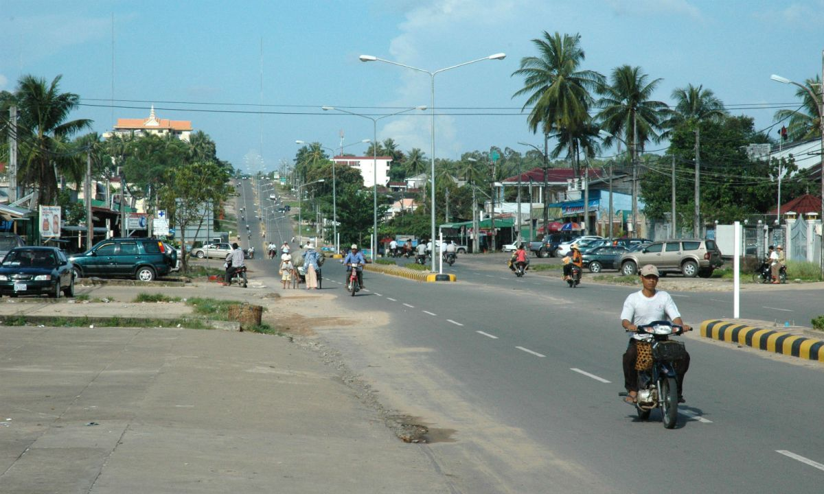 Sihanoukville City in Cambodia where the country's only deep sea port is located. Photo: Wikimedia Commons