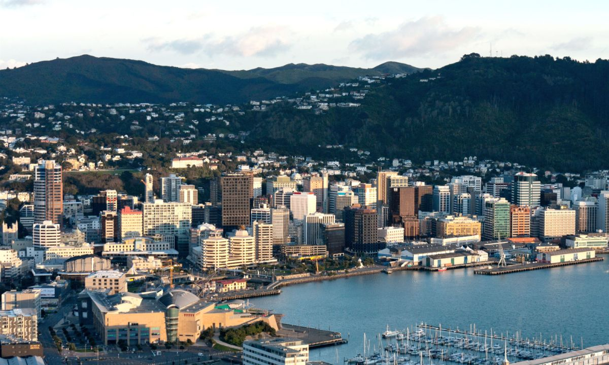 Wellington, New Zealand. Photo: Wikimedia Commons