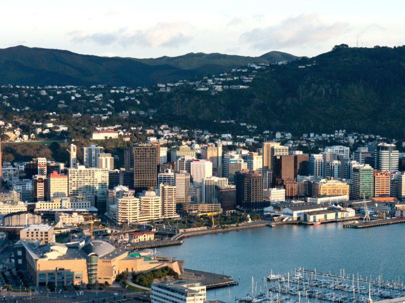 Wellington, New Zealand. Photo: Wikimedia Commons
