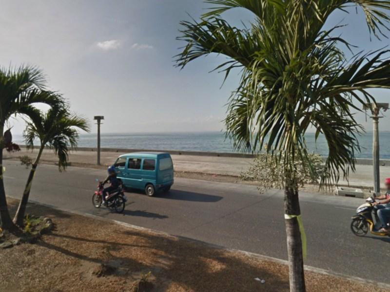 Baliwasan coast, Zamboanga City. Photo by Google Maps.