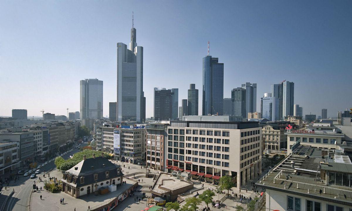 Frankfurt in Germany where the women were headed. Photo: Wikimedia Commons