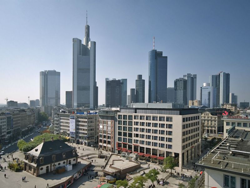 Frankfurt in Germany where the women were headed. Photo: Wikimedia Commons