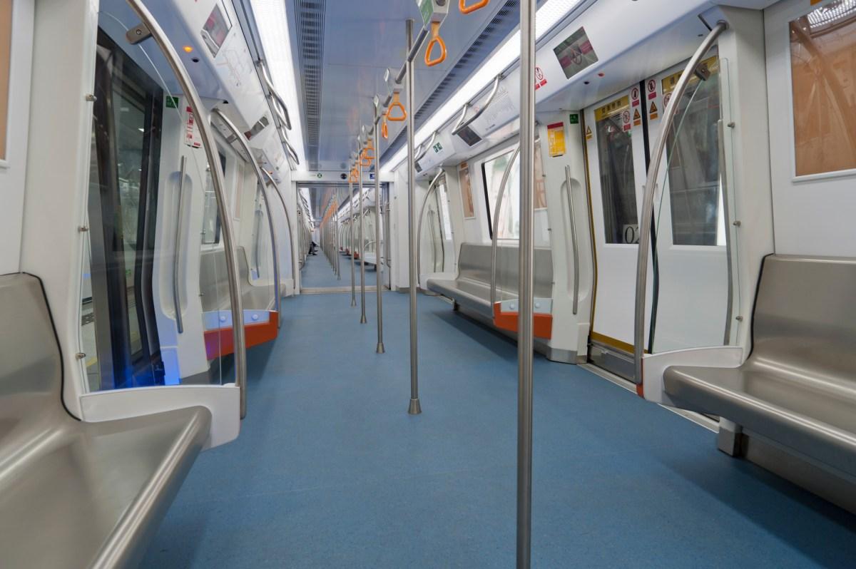 Shenzhen subway line 3. Photo: iStock