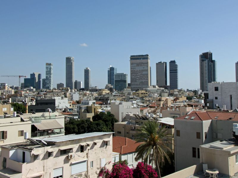 Tel Aviv, Israel. Photo: Wikimedia Commons