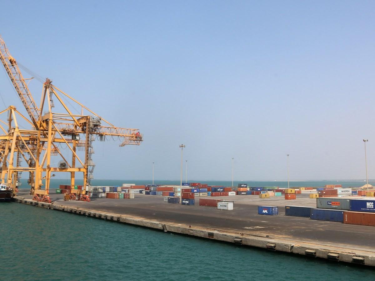 A view of Yemen's rebel-held Red Sea port of Hodeida on November 7, 2017.  Photo: AFP / Abdo Hyder