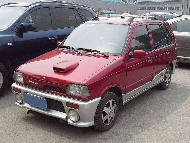 Chang'an Suzuki Alto Happy Prince photographed at the Beijing Used Car Trade Market, Beijing, China. Photo: Wikimedia Commons