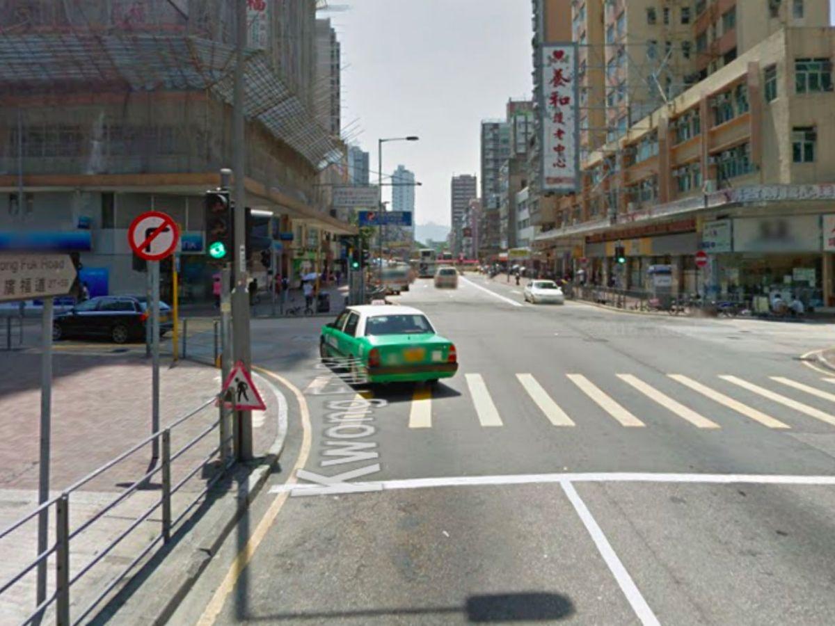 Kwong Fuk Road in Tai Po, the New Territories Photo: Google Maps