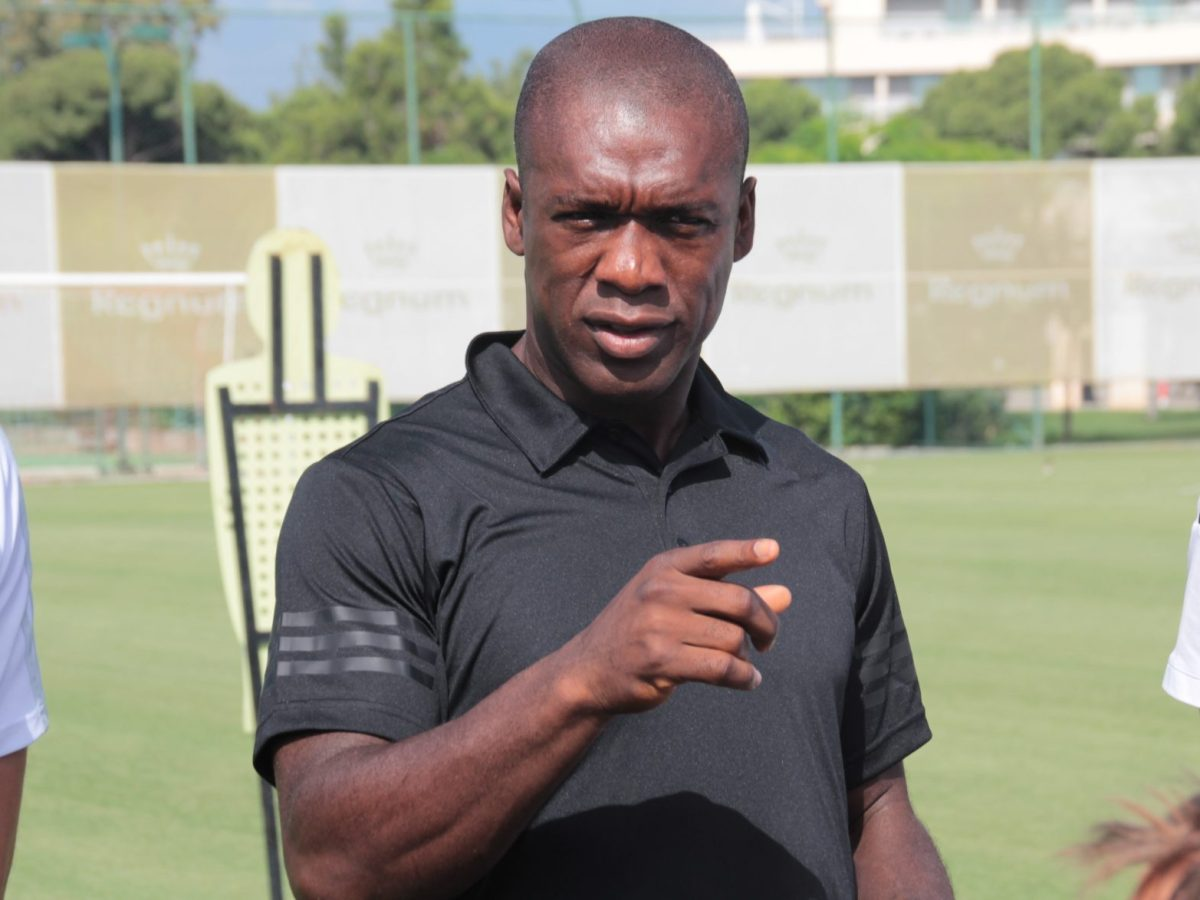 Former Dutch midfielder Clarence Seedorf has told Cameroon players they will not be picked in they ply theIr trade in China. Photo: AFP/Servet Tumer/Anadolu Agency