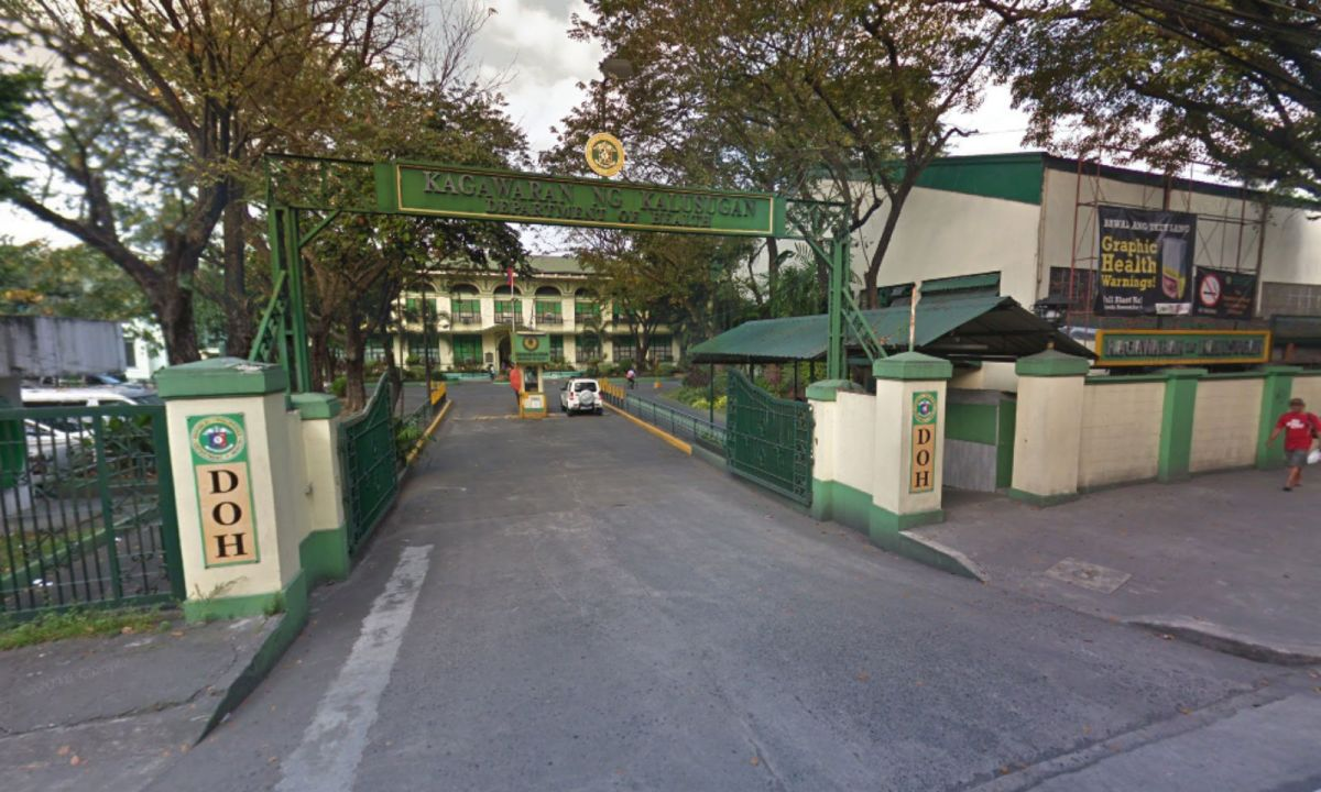 The Philippine Department of Health. Photo: Google Maps