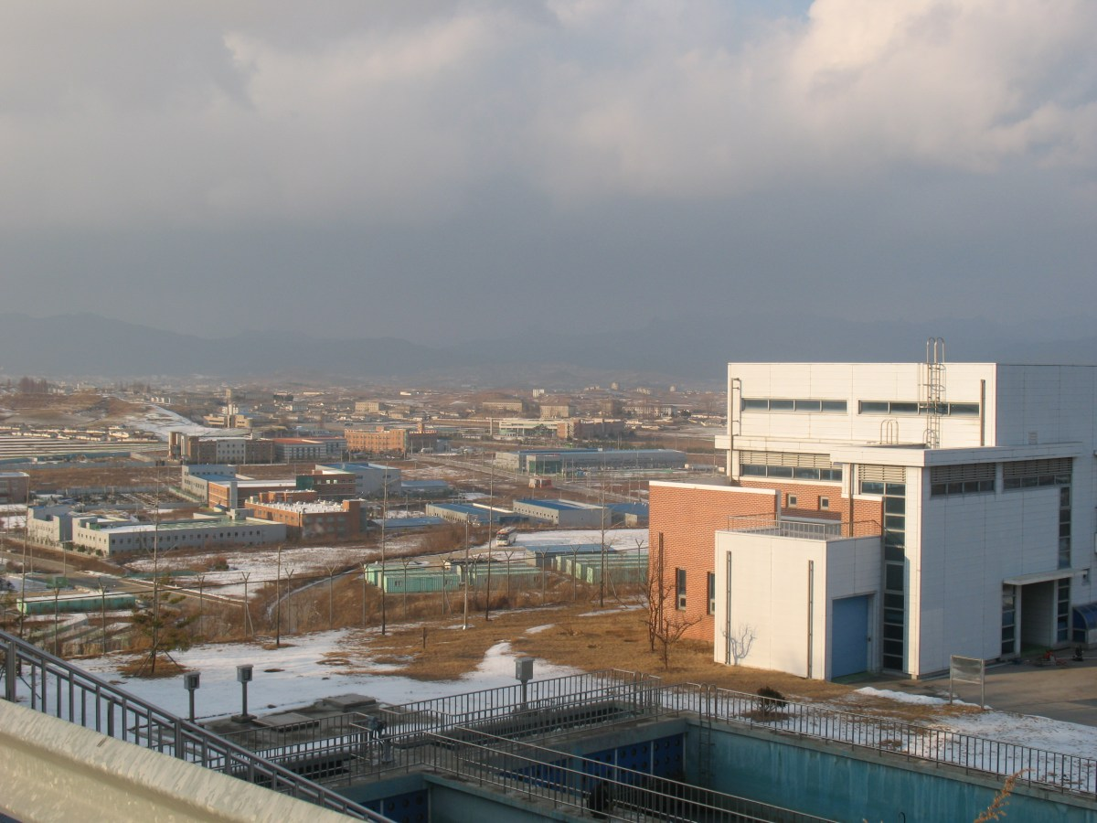 The Kaesong Industrial Complex in 2013. Photo; Andrew Salmon/Asia Times