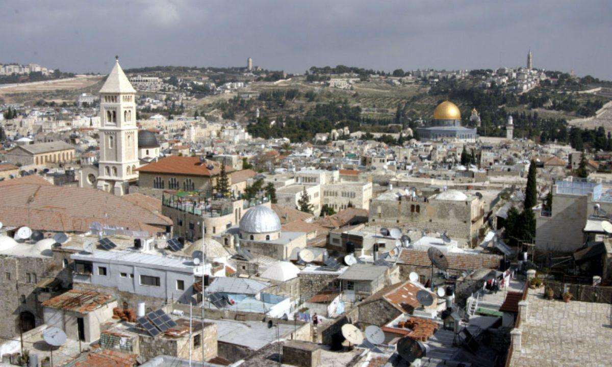 Jerusalem, Israel. Photo: Wikimedia Commons, Shmuel Spiegelman