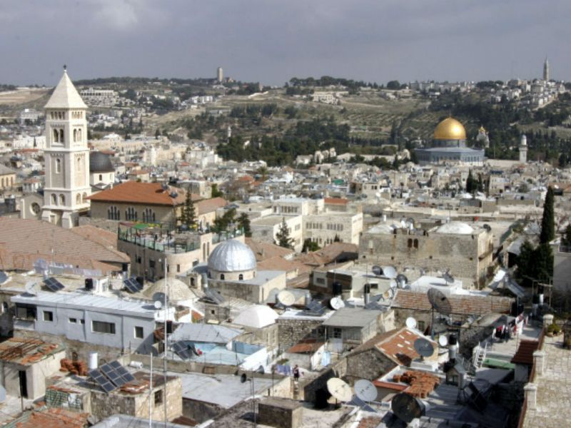 Jerusalem, Israel. Photo: Wikimedia Commons, Shmuel Spiegelman