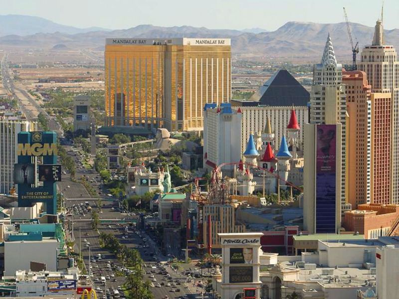 Las Vegas, Nevada, in the United States. Photo: Wikimedia Commons