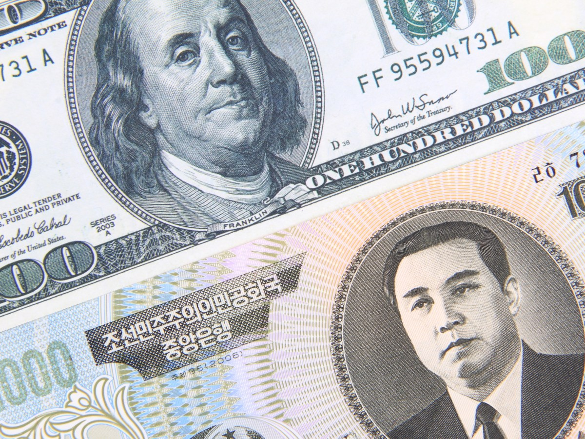 North Korea is allegedly sending crypto-currency into 'exchanger accounts' that have the capability of converting crypto-currencies into US dollars. Photo: iStock