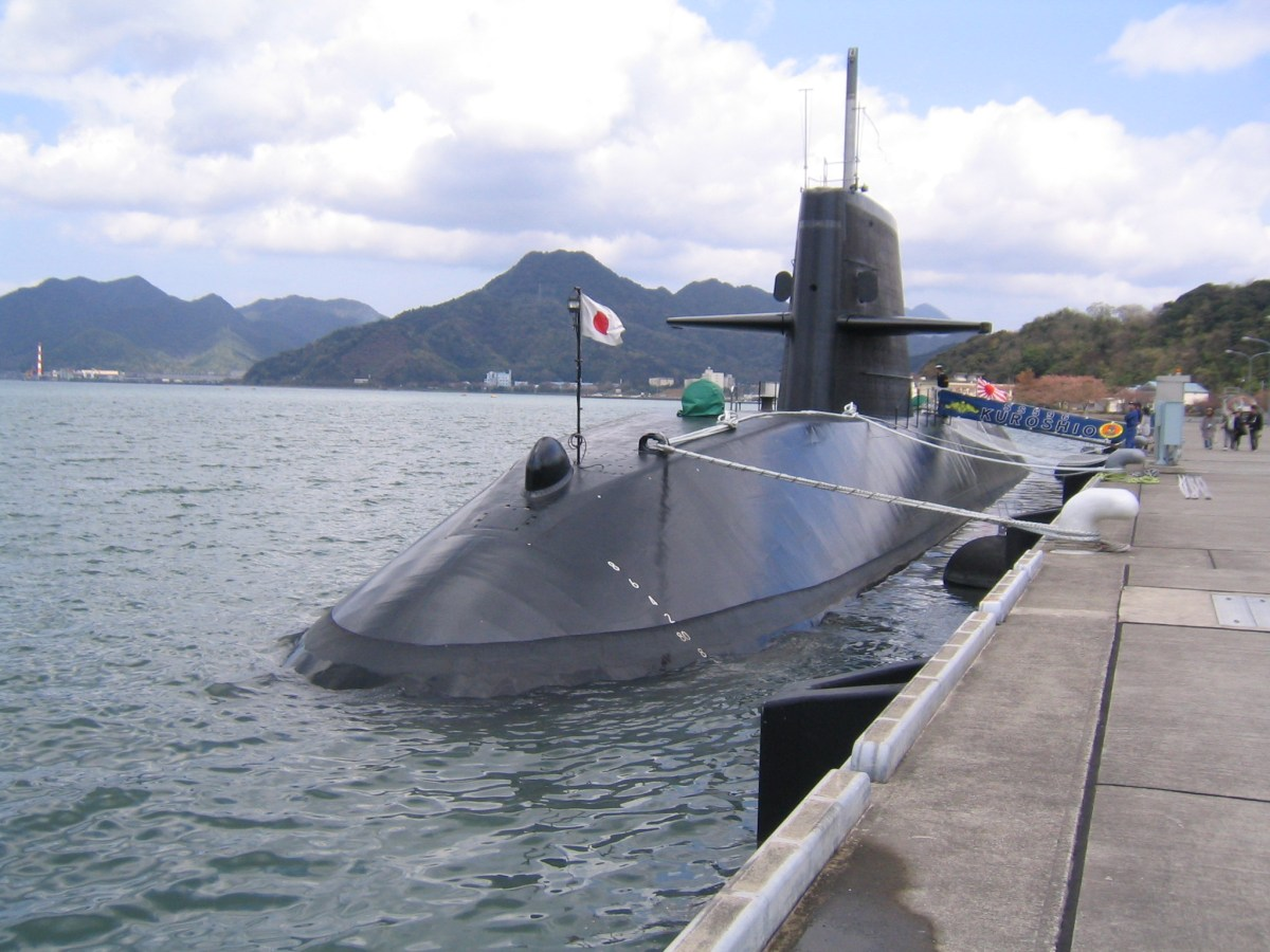 Oyashio-class submarine Kuroshio. Photo: Wikipedia Commons