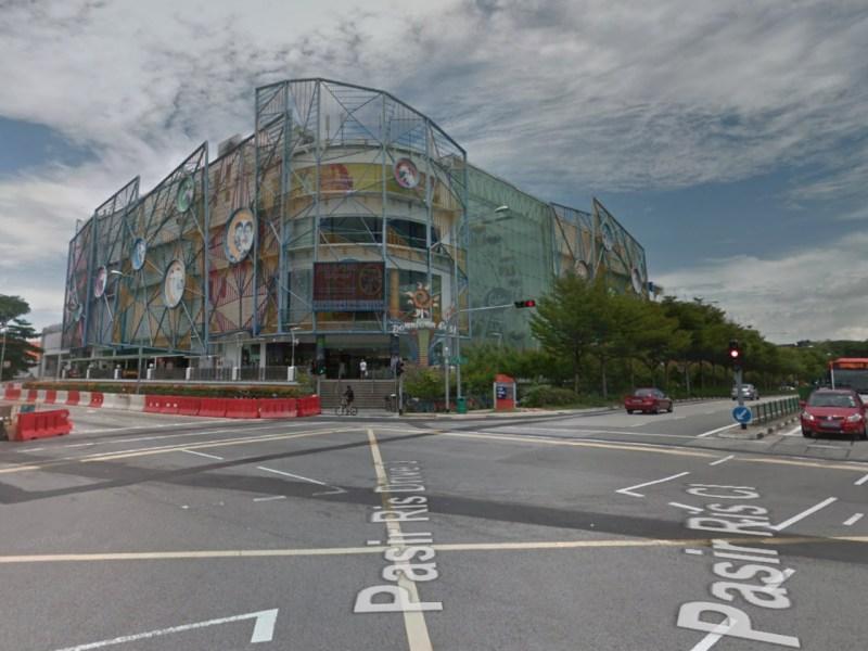 A shopping mall on Pasir Ris Close, Singapore. Photo: Google Maps