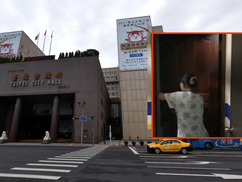 The Taipei City government is handling an alleged case of worker abuse. Photos: Google Maps, TVBS-NEWS